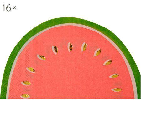 Serviettes en papier Watermelon, 16pièces