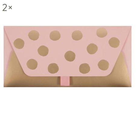 Geschenkenveloppen Dots, 2 stuks