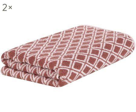 Asciugamano reversibile Ava, 2 pz.