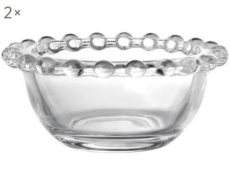 Schälchen Perles, 2 Stück