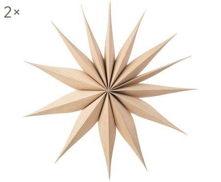 Étoiles décoratives Venok, 2pièces
