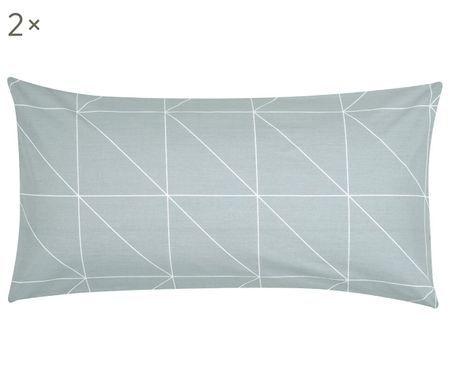 Oboustranný povlak na polštář zbavlny renforcé Marla, 2ks