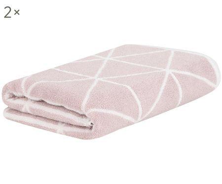 Asciugamano reversibile Elina, 2 pz.