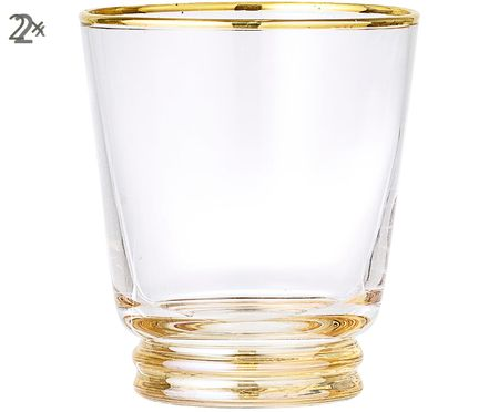 Szklanka do wody Frame, 2 szt.