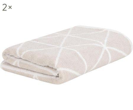 Oboustranný ručník Elina, 2 ks