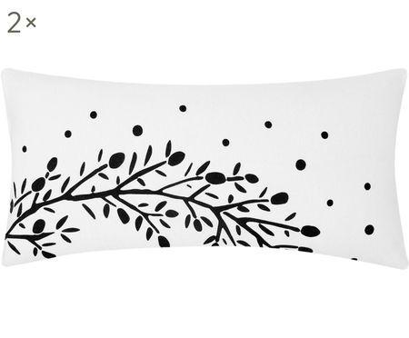 Flanelový povlak na polštář Mistletoe, 2 ks