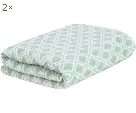 Oboustranný ručník Ava, 2 ks