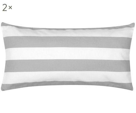 Oboustranný flanelový povlak na polštář Dora, 2 ks