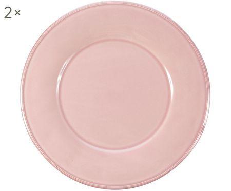 Assiettes plates Constance, 2pièces