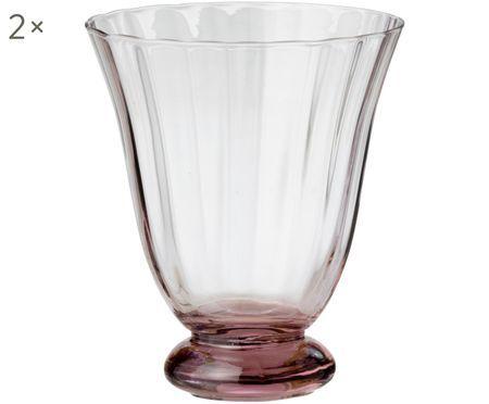 Bicchieri per l'acqua Trellis, 2 pz.