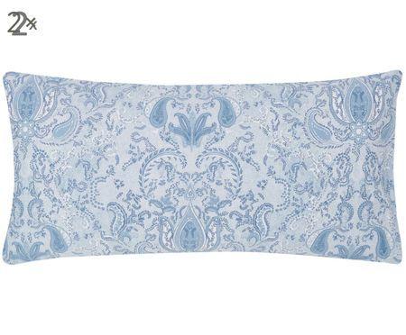 Baumwollsatin-Kissenbezüge Grantham mit Paisley-Muster, 2 Stück