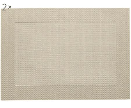 Placemats in materiale sintetico Modern, 2 pz.
