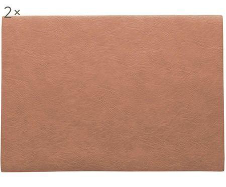 Prostírání zimitace kůže Plini, 2 ks