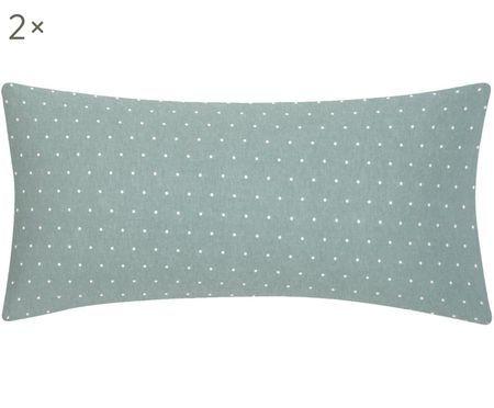 Oboustranný flanelový povlak na polštář Betty, 2 ks