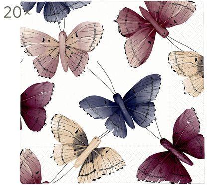 Papírový ubrousek Butterfly, 20 ks