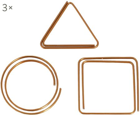 Set di graffette Geometria, 9 pz.