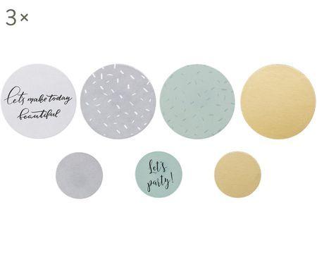 Set confetti Round, 21 pz.
