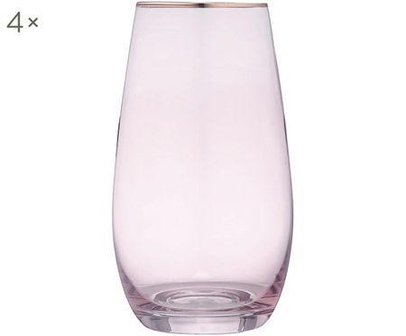 Bicchieri per l'acqua Chloe, 4 pz.