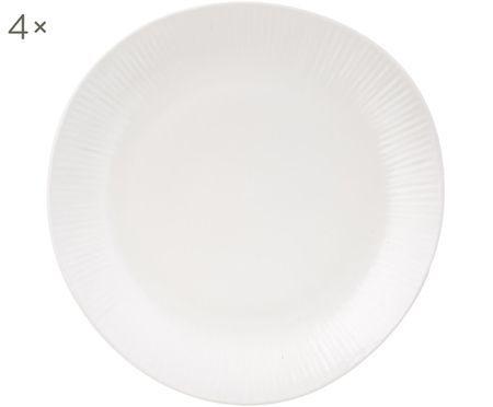 Assiettes plates faites à la main Sandvig, 4 pièces