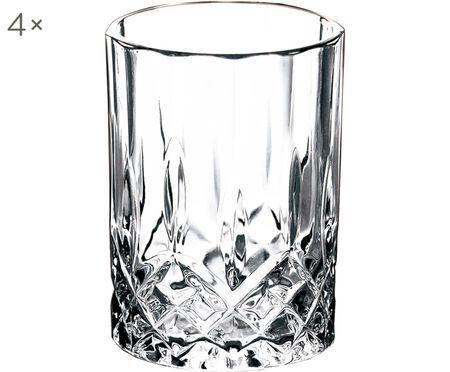 Bicchieri Harvey con motivo in rilievo, 4 pz. nel set