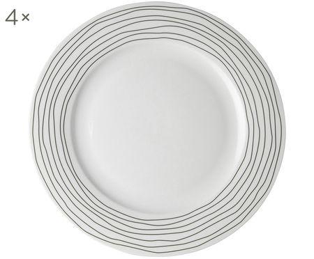 Assiettes plates Eris Loft, 4 pièces