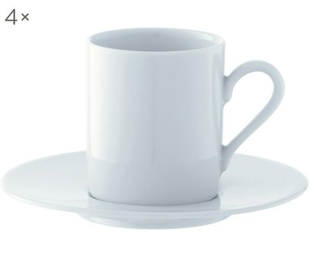 Service de tasses à espresso Bianco, 8élém.