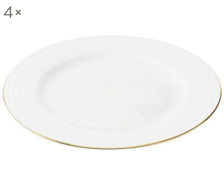 Assiettes plates Cobald, 4 pièces