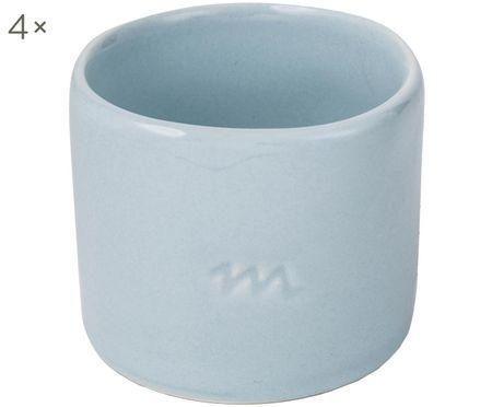 Ronds de serviette de table peints à la main Tubo, 4 pièces
