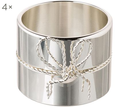 Vera Wang Designer-Serviettenringe Love Knots, 4 Stück