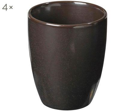 Tazas de café artesanales Esrum Night, 4uds.
