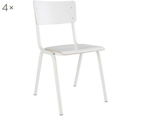 Chaises Back to School, 4pièces