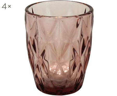 Szklanka do wody Lilania, 4 szt.
