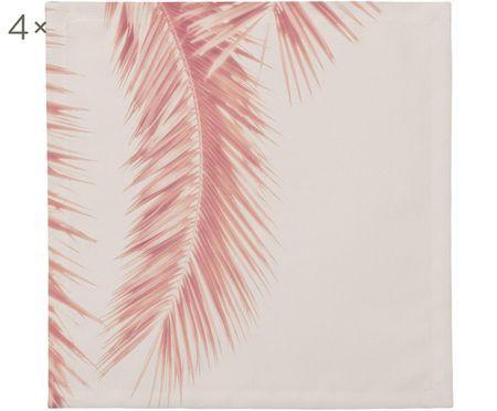 Látkový ubrousek Palm Leaves, 4 ks
