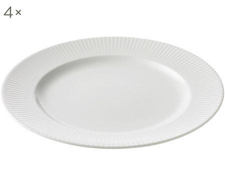 Assiettes plates Groove, 4pièces