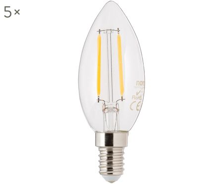 LED Leuchtmittel Vel (E14 / 2Watt) 5 Stück