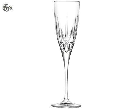 Flûtes à champagne en cristalChic, 6pièces