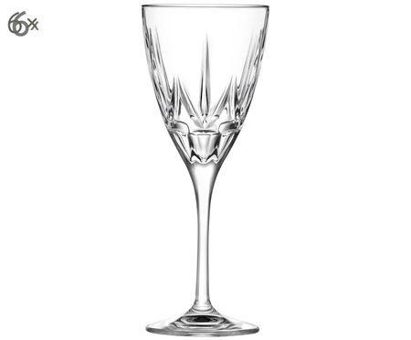 Křišťálová sklenice na červené víno Chic, 6 ks