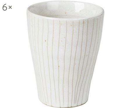 Mugs faits à la main Copenhagen, 6pièces