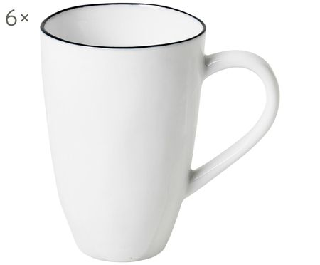 Tasses faites à la main Salt, 6 élém.