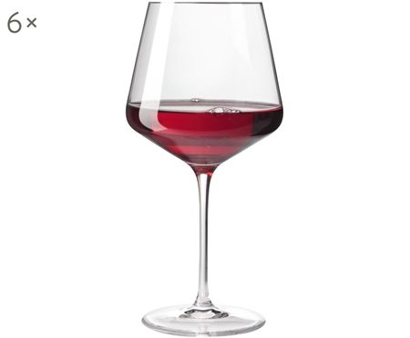Kieliszek do czerwonego wina Burgunder Puccini, 6 szt.