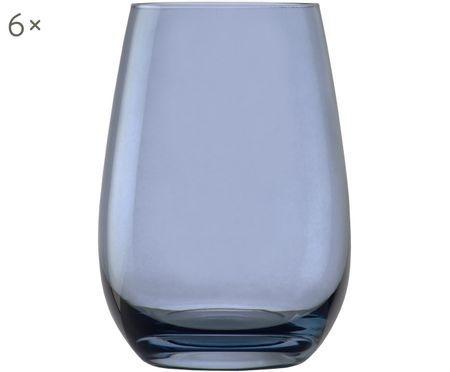 Kryształowa szklanka do wody Elements Clear, 6 szt.
