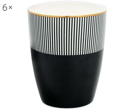 Ručně vyráběný pohárek Corine, 6ks