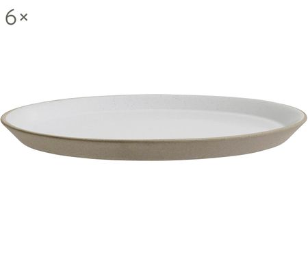 Ontbijtbord Blanca, 6 stuks