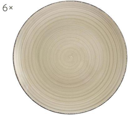 Assiettes platesBaita, 6 pièces