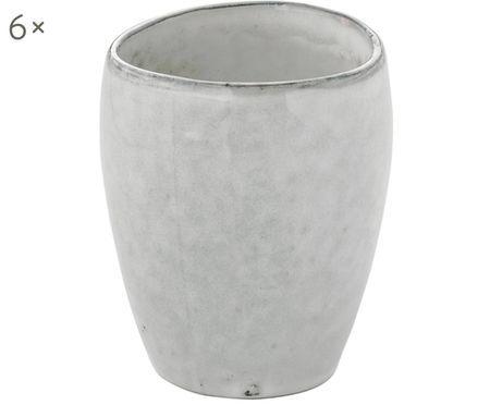 Tazza da caffè fatte a mano Nordic Sand, 6 pz.