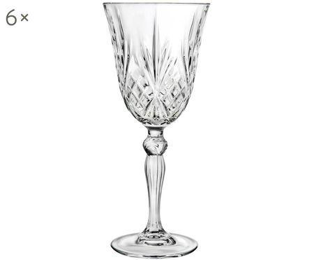 Bicchieri per vino rosso in cristallo  Melodia, 6 pz.