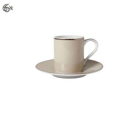 Set tazzine da caffè Lydia, 12 pz.