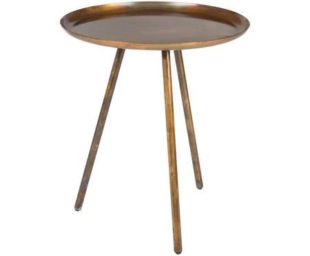Tavolino rotondo Frost in metallo