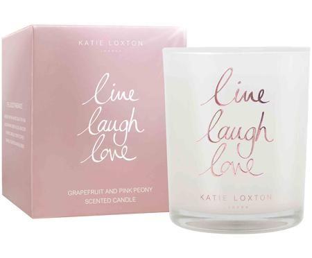 Candela profumata Live Laugh Love (pompelmo e peonia)