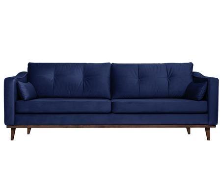 Canapé en velours Alva (3places)